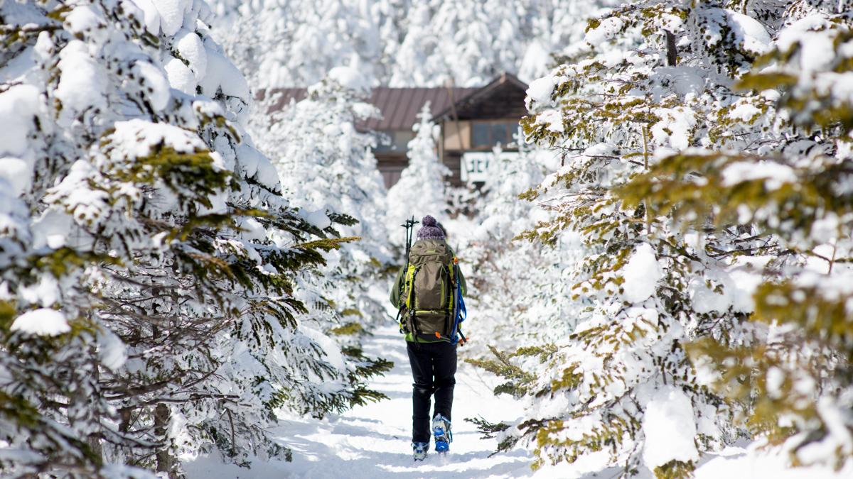 Ai AF Nikkor 85mm f/1.4D IFで撮った雪山