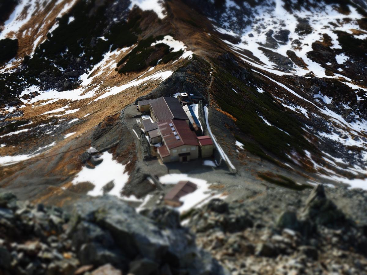 E-M5 Mark II | OM-D | アートフィルター(ジオラマ)で撮った立山の一ノ越山荘